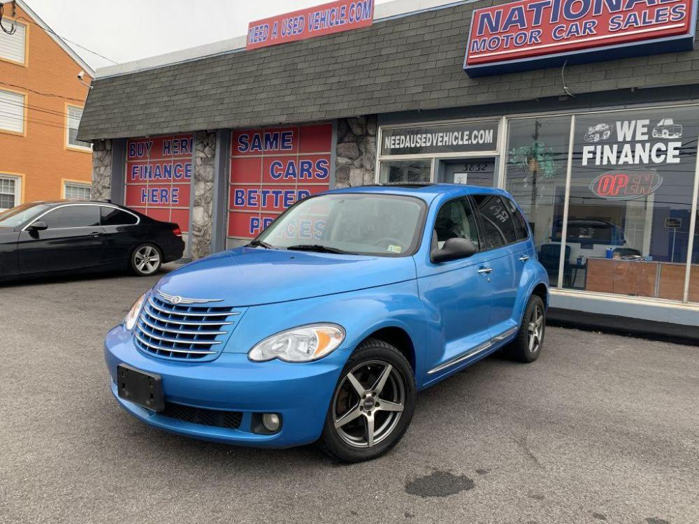 2008 BLUE CHRYSLER PT CRUISER LIMITED (3A8FY68838T) with an 2.4L engine, Automatic transmission, located at 3832 Williamson Rd NW, Roanoke, VA, 24012, (540) 265-3910, 37.334156, -79.954811 - Photo #0